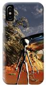 Artist Concept Of The Roswell Incident IPhone Case