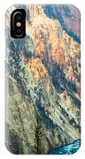 Artist Point - Yellowstone Park Horizontal IPhone Case