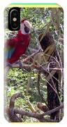 Artistic Wild Hawaiian Parrot IPhone Case