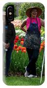 Artists Posing For Papparazzi II IPhone Case