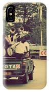 Arusha. Tanzania. Africa. A Group Of Young Men Celebrating Their Graduation IPhone Case