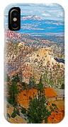 As Far As The Eye Can See From Farview Point In Bryce Canyon-utah   IPhone Case