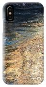 As The Ocean Wave Swirled It Looked Like Gold IPhone Case