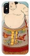 Asashio Toro A Japanese Sumo Wrestler IPhone Case
