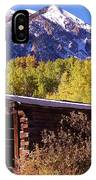 Ashcroft In Late September IPhone Case