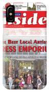 Asheville Insider Magazine IPhone Case