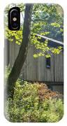 Ashtabula Collection - Olin's Covered Bridge 7k01977 IPhone Case