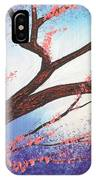 Asian Bloom Triptych 1 IPhone Case