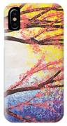 Asian Bloom Triptych 3 IPhone Case