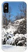 Asleep Under The Snow IPhone Case