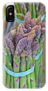 Asparagus Stalks Bound With Rubber Bands IPhone Case