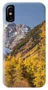 Aspen And Mountains 4 IPhone Case