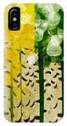 Aspen Colorado 4 Seasons Abstract IPhone Case