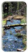 Aspen Crossing Mountain Stream IPhone Case