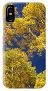 Aspen Grove In Fall IPhone Case