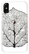 Aspen Leaf Skeleton 1 IPhone Case