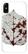 Aspen Leaf Skeleton 2 IPhone Case