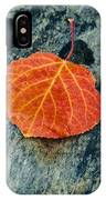 Aspen Leaf  IPhone Case