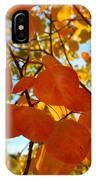 Aspen Leaves IPhone Case