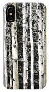 Aspen Tree Trunks IPhone Case