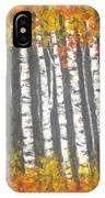Aspen Trees IPhone X Case