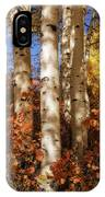 Aspen Trunks And Red IPhone Case