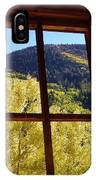 Aspen Window 2 IPhone Case