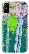 Aspensincolor Green IPhone Case