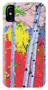 Aspensincolor Redorange IPhone Case