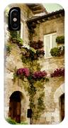 Assisi Courtyard IPhone Case