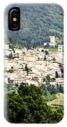 Assisi Italy - Medieval Hilltop City IPhone Case