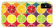 Assorted Citrus Pattern IPhone Case