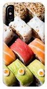 Assortment Of Sushi IPhone Case