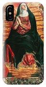 Assumption Of Mary With Sts Minias And Julian IPhone Case