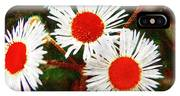 Asters Bright And Bold IPhone Case