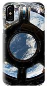 Astronauts View From The Space Station IPhone Case