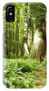 At Cathedral Grove IPhone Case