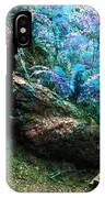 At Home In Her Forest Keep - Pacific Northwest IPhone Case