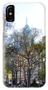 At Rittenhouse Square IPhone Case