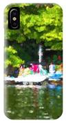 At The Cottage Dock IPhone Case