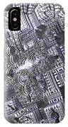 At The Crossing IPhone Case