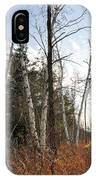 At The Edge Of The Wetland IPhone Case