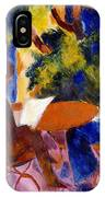 At The Garden Table IPhone Case