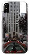 At The Rockefeller Center IPhone Case