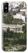Athens Cityscape  IPhone Case