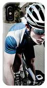 Athletic Male High Speed Cycling IPhone Case