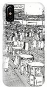 Atlantic City Boardwalk 1940 IPhone Case