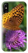 Atlantis Fritillary Butterfly IPhone Case