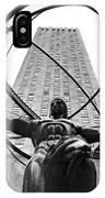 Atlas In Rockefeller Center IPhone Case