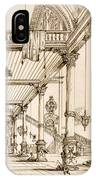 Atrium Of A Palace, In Genes, From Art IPhone Case